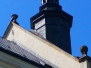 W AKCJI! Silny wiatr - ratowanie dachu kościoła